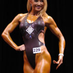 Amy Bates fitness competition