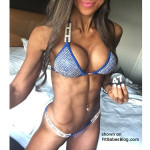 fitness babe ready to compete