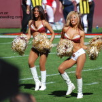 Arizona Cardinals Cheerleader pic
