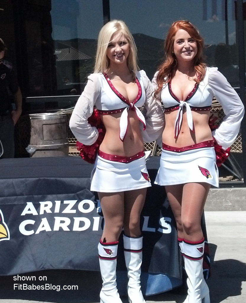 Arizona Cardinals cheerleader pic