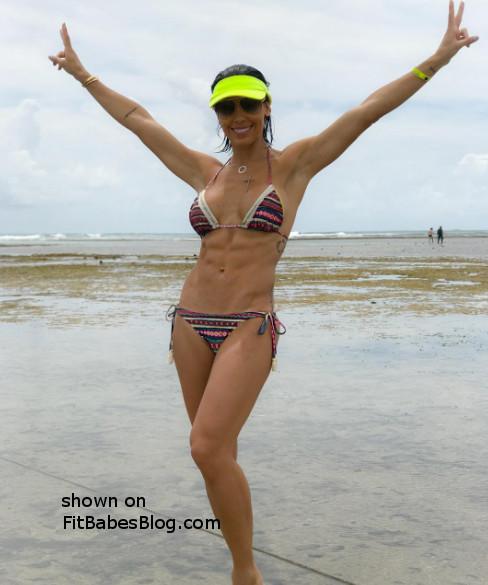 Bella Falconi bikini
