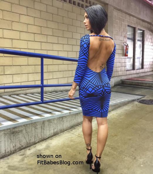 Bella Falconi tight dress