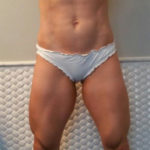 muscular amateur girl