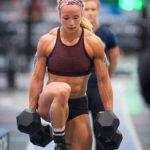 Amanda Barnhart muscular arms